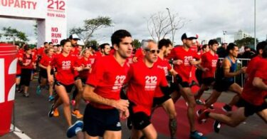 Carolina Herrera 212 Run Hard largada